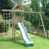 action tramps arundel wooden climbing frame